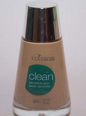 Details About  COVERGIRL CLEAN SENSITIVE SKIN MAKEUP #265 TAWNY, Foundation, COVERGIRL, reddonut