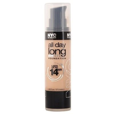NYC All Day Long Smooth Skin Foundation CHOOSE YOUR COLOR, Foundation, NYC, reddonut.com