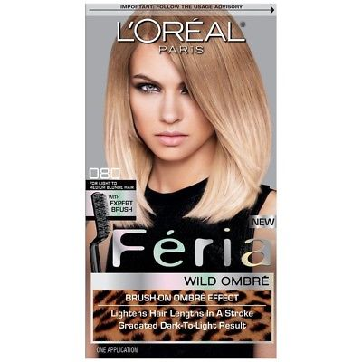 L'Oreal Feria Ombre, Brush On Ombre Effect Hair Color CHOOSE YOUR COLOR, Hair Color, L'Oreal, reddonut