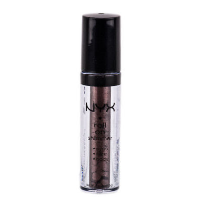 NYX Roll On Shimmer For Eyes, Face & Body color RES13 Chestnut,