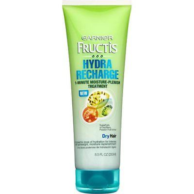 Garnier Fructis Moisture-Plenish Treatment, 1-Minute, Dry Hair, 6pk, Body Lotions & Moisturizers, Garnier, reddonut.com