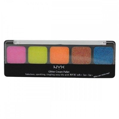NYX Glitter Cream Palette for Eyes, Face and Body YOU CHOOSE, Other Makeup, reddonut, reddonut.com