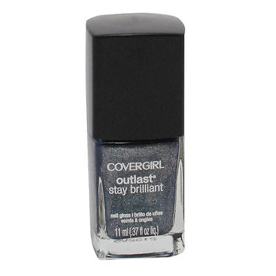 COVERGIRL OUTLAST STAY BRILLIANT NAIL GLOSS #320 MIDNIGHT MAGIC, Nail Polish, CoverGirl, reddonut