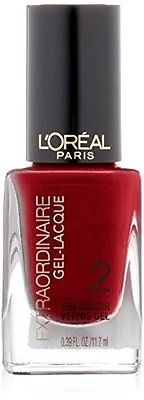 L'Oreal Extraordinaire Gel-Lacquer Nail Color, Hot Couture,(Pack Of 2), Gel Nails, L'Oréal, reddonut.com