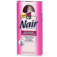 Nair No Touch Upper Lip Cream - .69 Oz, Hair Removal Creams & Sprays, Nair, reddonut.com
