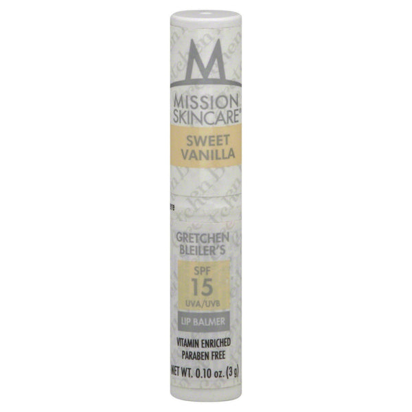 Mission Skin Care Spf15 Lip Balm, Sweet Vanilla Choose Your Pack - reddonut.com