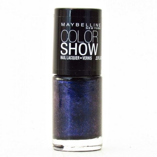 Maybelline Colorshow Nail Polish, 350 Blue Freeze Choose Your Pack, Nail Polish, Maybelline, reddonut.com