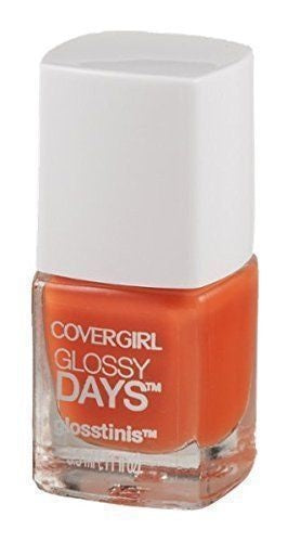 Covergirl Glossy Days Glossitinis Nail Polish, 660 Electro Glow Choose Your Pack - reddonut.com