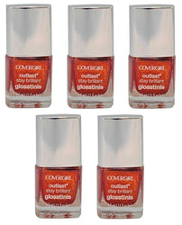 Covergirl Outlast Stay Brilliant Glosstini Polish, 610 Rogue Red Choose Pack, Nail Polish, CoverGirl, reddonut.com