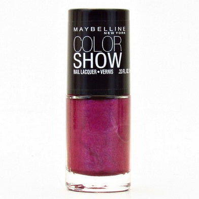 Maybelline Color Show Nail Polish, 290 Purple Icon Choose Your Pack, Nail Polish, Maybelline, reddonut.com