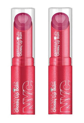 Nyc Applelicious Glossy Lip Balm, 354 Apple Blossom Choose Your Pack - reddonut.com
