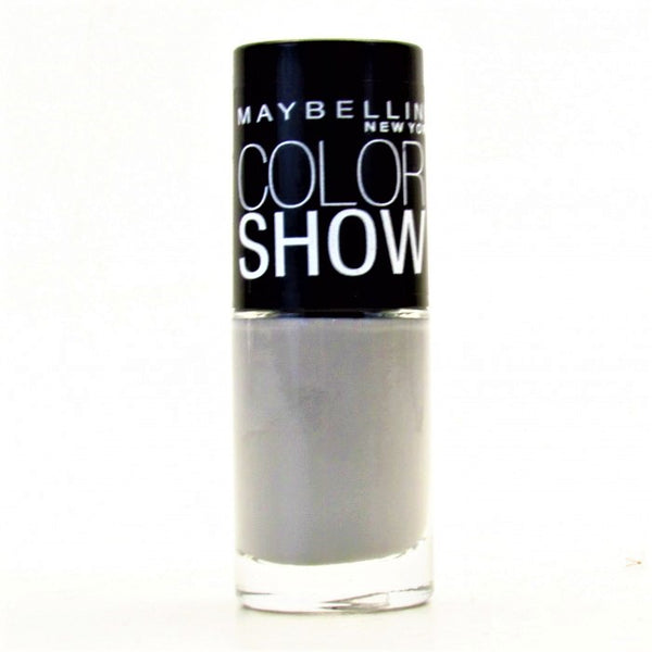 Maybelline Colorshow Nail Polish, 290 Audacious Asphalt Choose Your Pack, Nail Polish, Maybelline, reddonut.com