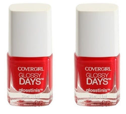 Covergirl Outlast Stay Brilliant Glosstinis, 650 Raving Hot Choose Your Pack, Nail Polish, CoverGirl, reddonut.com