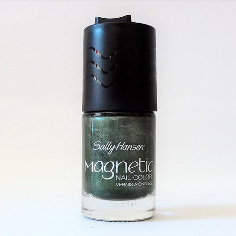 Sally Hansen Magnetic Nail Polish, 907 Electric Emerald Choose Your Pack, Nail Polish, reddonut, reddonut.com