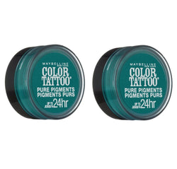 Maybelline New York Color Tattoo Eye Shadow, 5 Never Fade Jade Choose Your Pack, Eye Shadow, Maybelline, reddonut.com