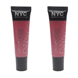 Nyc Kiss Gloss Lip Gloss, 539 Soho Sweet Pea Choose Your Pack, Lip Gloss, NYC, reddonut.com