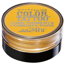 MAYBELLINE Color Tattoo 24 Hour Pure Pigments - WILD GOLD #25 BUY 2 GET 1 FREE, Eye Shadow, Maybelline, reddonut.com