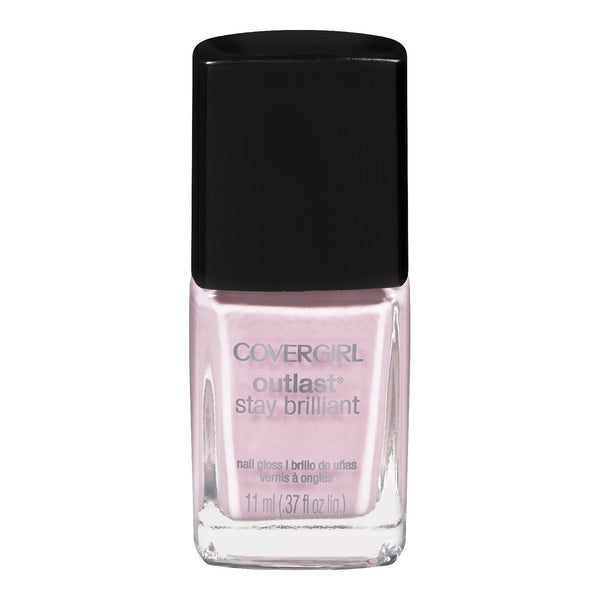 Covergirl Outlast Stay Brilliant 140 Pink-finity, Nail Polish, CoverGirl, reddonut