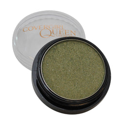 Covergirl Queen Collection Eyeshadow Pot #q180 Green Glimmer - reddonut.com