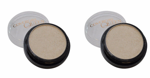 Lot Of 2 Covergirl Queen Collection Eyeshadow Pot #q160 Shimmering Sands, Eye Shadow, CoverGirl, reddonut.com