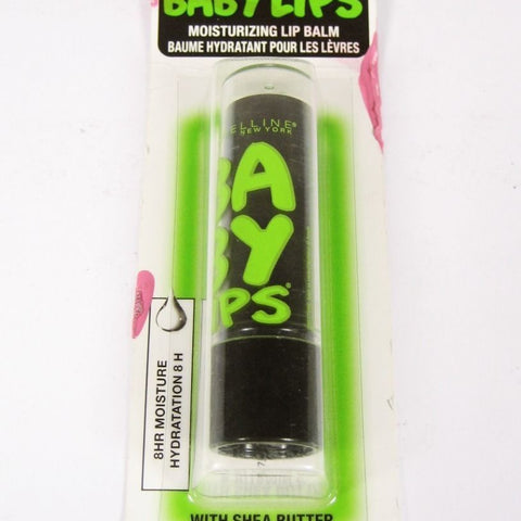 Maybelline Baby Lips Moisturizing Lip Balm 90 Minty Sheer *SEALED* B2g 15%__Maybelline