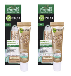 Garnier Skin BB Eye Miracle Skin Perfector Eye Roller Light/Medium 0.27 Fl Oz, BB, CC & Alphabet Creams, Light/Medium, reddonut.com