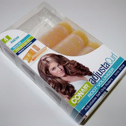 4 Conair AdjustaCurl Root Volumizer Adjustable Self-Grip Rollers For Ionic Shine, Rollers & Curlers, Conair, reddonut.com