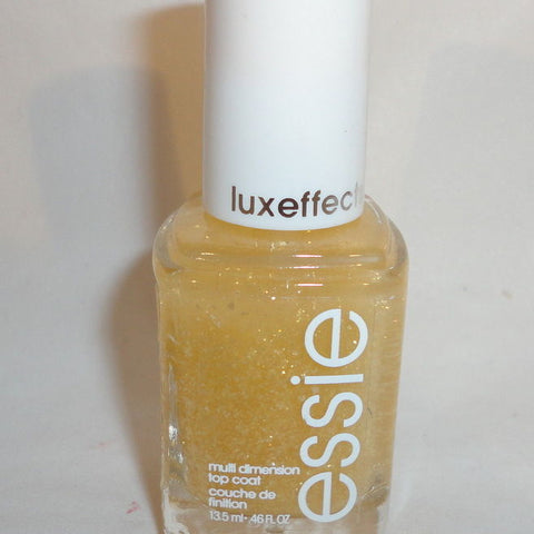 "Essie Luxeffects 950 ""As Gold As It Gets"" Golden Yellow Nail Polish Model__Sally Hansen"