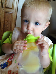 12-pack Refillable Baby Food Pouch Great For Snacks & Drinks Usa, Other Baby Dishes, BOOGINHEAD SQUEEZEMS, reddonut
