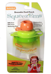 Reusable Baby Toddler Or Adult Food Pouch (6 Pack),__Boogin Head