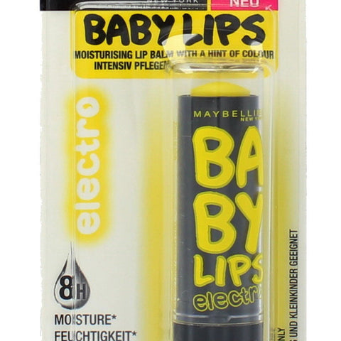 Maybelline Baby Lips Moisturizing Balm 75 Fierce N Tangy Buy 2 Or More Get15%__Maybelline