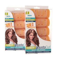 8 Conair Adjustacurl Adjustable Self-grip Rollers Root Volumizing Ionic Shine, Rollers & Curlers, Conair, reddonut.com