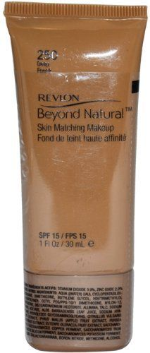 Revlon Beyond Natural Skin Matching MakeUp Foundation SPF 15 #250 Deep, Foundation, Revlon, reddonut.com