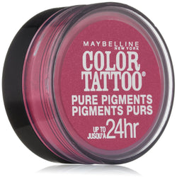 MAYBELLINE COLOR TATTOO PURE PIGMENTS EYE SHADOW #20 PINK REBEL - reddonut.com