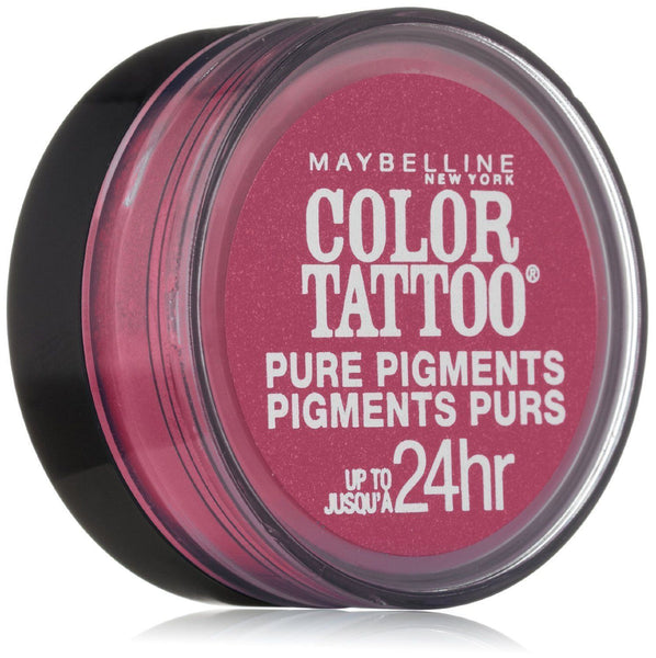 MAYBELLINE COLOR TATTOO PURE PIGMENTS EYE SHADOW #20 PINK REBEL, Eye Shadow, Maybelline, reddonut.com