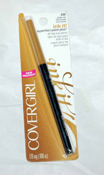COVERGIRL Ink It All-Day Eye Pencil Eyeliner 235 Golden Ink, Eyeliner, CoverGirl, reddonut