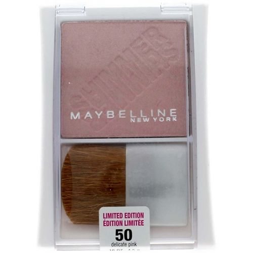 Maybelline Expert Wear Shimmer Powder #50 Delicate Pink (Limited Edition), Blush, Limited Edition, reddonut.com