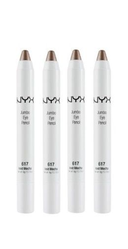 Lot of 4 - Nyx Jumbo Eye Pencil Color Jep617 Iced Mocha, Eye Shadow, NYX, reddonut.com