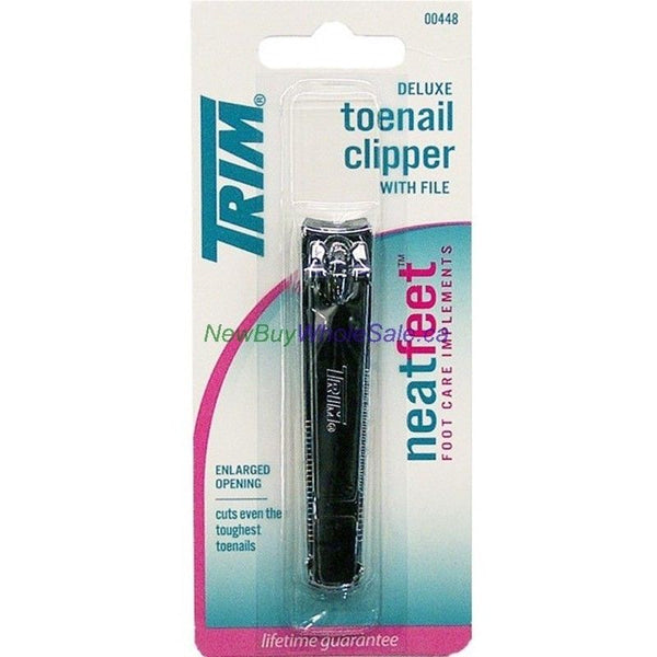 Trim Toe Nail Clipper Neat Feet Deluze Nail Trimmer NEW With Enlarged Opening__Trim