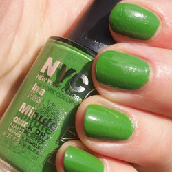 NYC  High Line Green #298 IN A MINUTE Quick-Dry NAIL POLISH, Nail Polish, NYC, reddonut.com