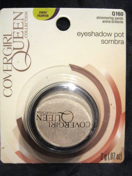 COVERGIRL QUEEN COLLECTION EYESHADOW POT Q160 SHIMMERING SANDS, Eye Shadow, CoverGirl, reddonut.com