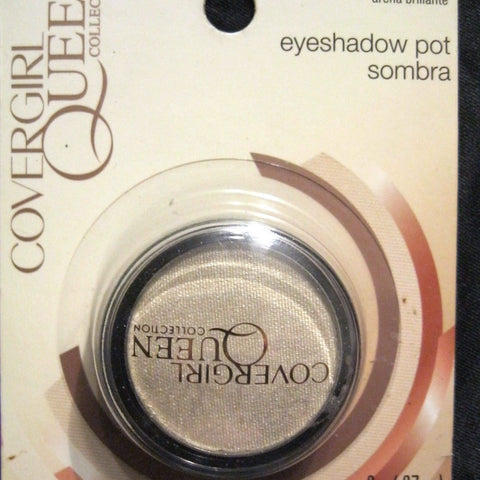 COVERGIRL QUEEN COLLECTION EYESHADOW POT Q160 SHIMMERING SANDS, Eye Shadow, CoverGirl, reddonut