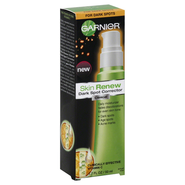 Garnier Skin Renew Clinical Dark Spot Corrector, 1.7 Fluid Ounces Old*, Anti-Aging Products, reddonut, reddonut.com