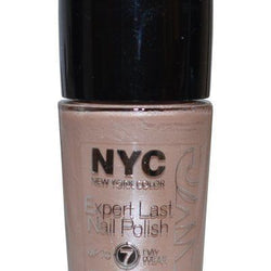 NYC EXPERT LAST NAIL POLISH 215 Late Night Latte UP TO 7 DAY WEAR__NYC