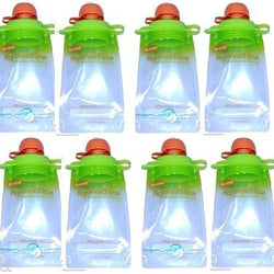 12-pack Refillable Baby Food Pouch Great For Snacks And Drinks Usa Seller, Other Baby Dishes, BOOGINHEAD SQUEEZEMS, reddonut