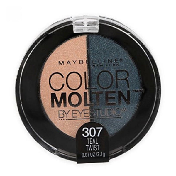 Maybelline Eye Studio Color Molten Cream Eye Shadow, Teal Twist 307, Eye Shadow, Maybelline, reddonut.com