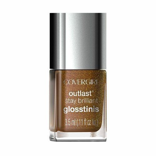 Covergirl Outlast Stay Brilliant Mini 630 Seared Bronze, Nail Polish, CoverGirl, reddonut