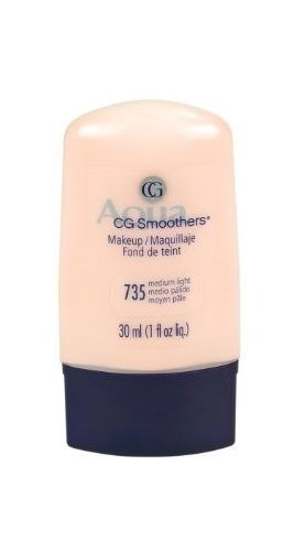 Covergirl Smoothers Liquid Make Up, Medium Light 735, 1-ounce, Foundation, CoverGirl, reddonut.com