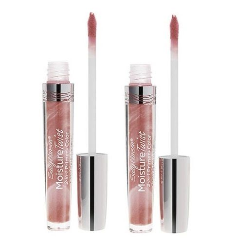 2 Lot Sally Hansen Moisture Twist 2-in-1 Primer & Color Lipgloss 20 Mocha Mingle, Lip Gloss, Sally Hansen, reddonut.com