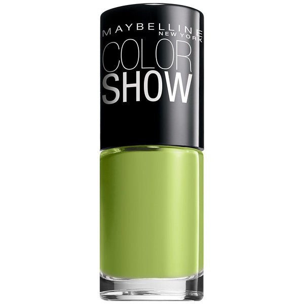Maybelline Color Show Nail Polish # 340 Go Go Green, Nail Polish, Maybelline, reddonut.com